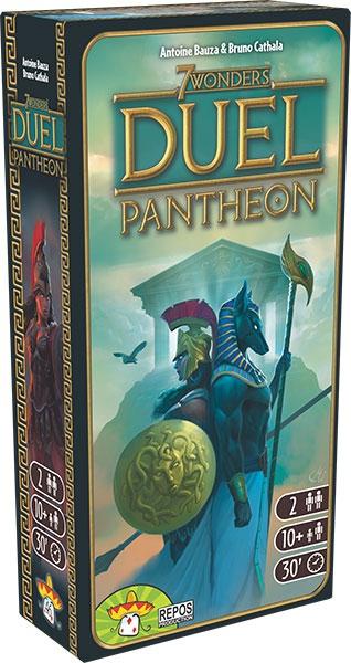 7 Wonders Duel : Panthéon pas cher