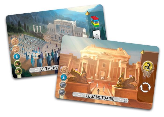 7 Wonders Duel : Panthéon