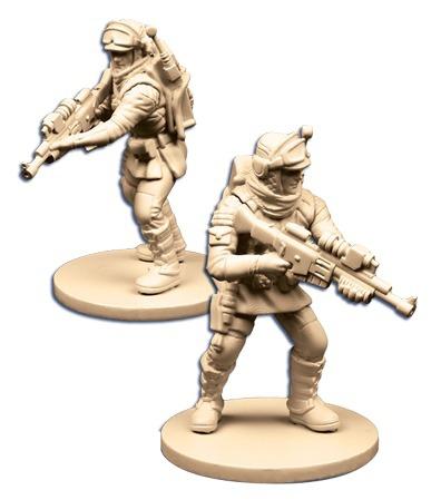 Assaut sur l\'Empire : Soldats de la Base Echo