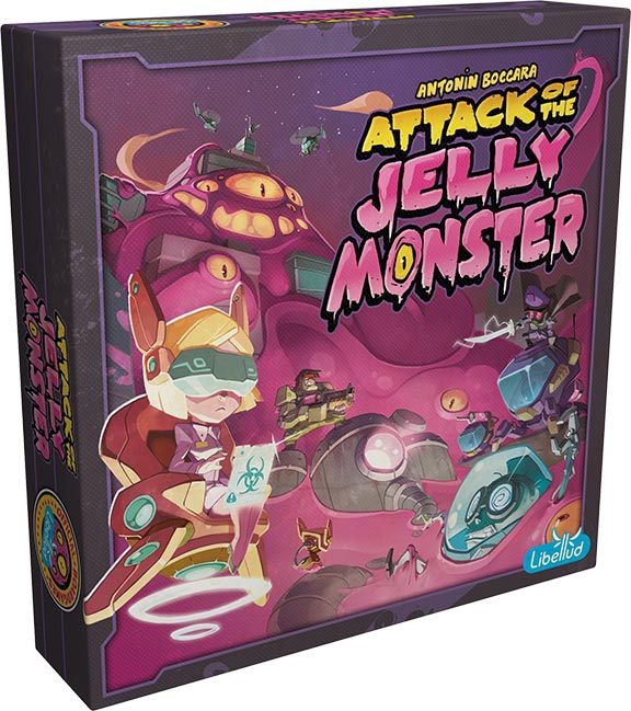 Attack of the Jelly Monster + Goodie Tuile Quartier pas cher