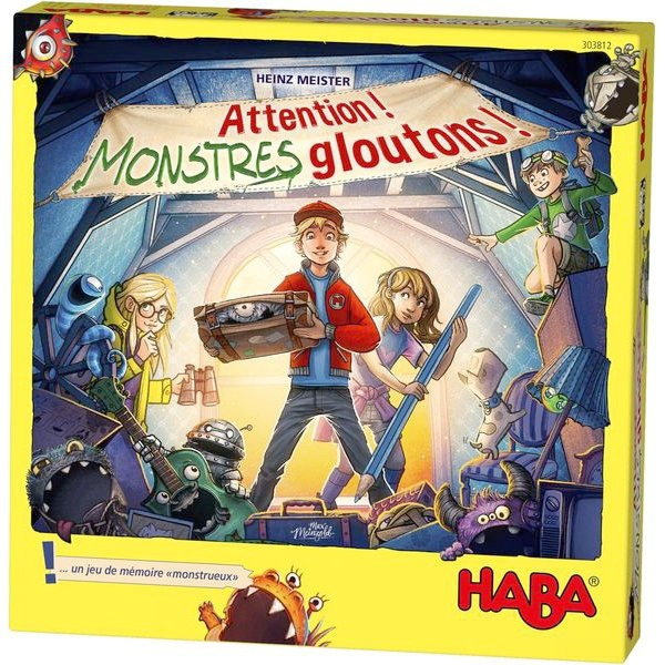 Attention ! Monstres Gloutons ! pas cher
