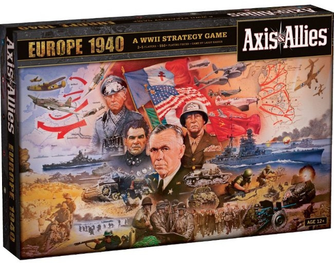 Axis & Allies - Europe 1940 2nd Edition pas cher