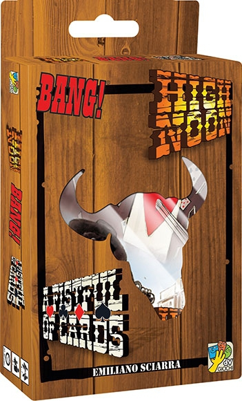 Bang!  A Fistful of Cards + High Noon pas cher
