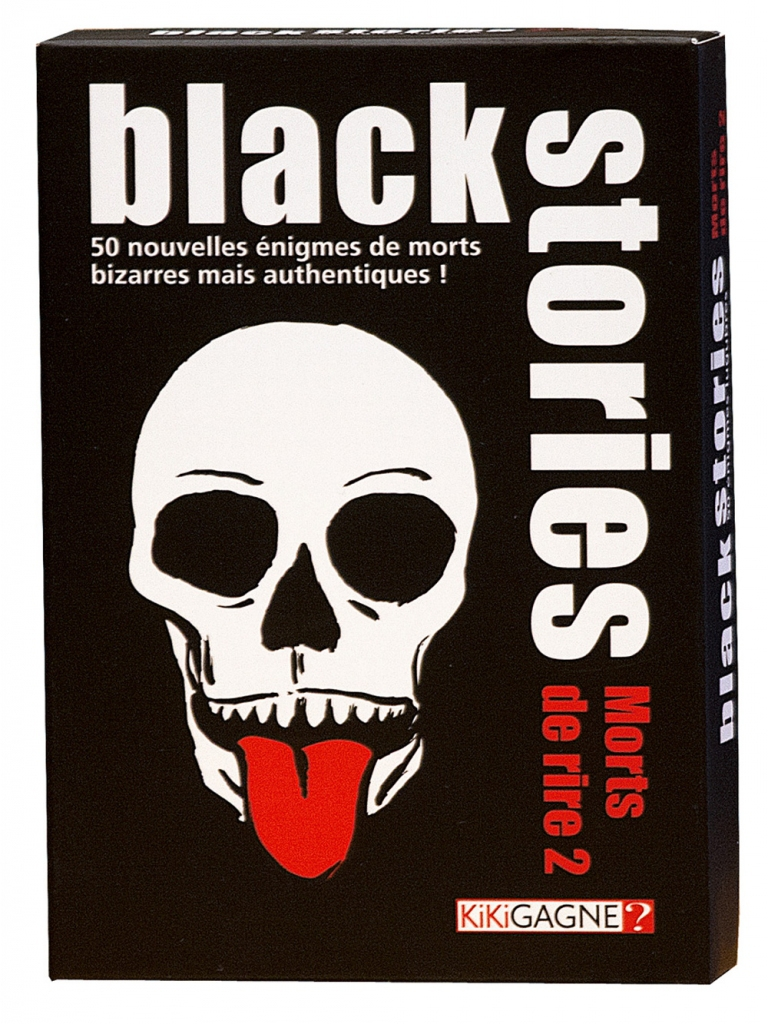 Black Stories - Mort de Rire 2 pas cher