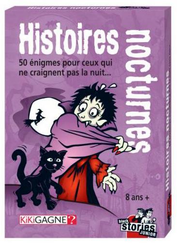 Black Stories Junior - Histoires Nocturnes pas cher