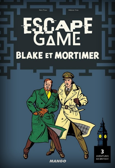 Blake & Mortimer - Escape Game Book pas cher