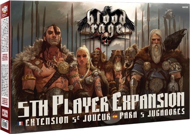 Blood Rage : Extension 5ème Joueur pas cher