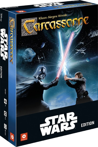 Carcassonne Star Wars pas cher