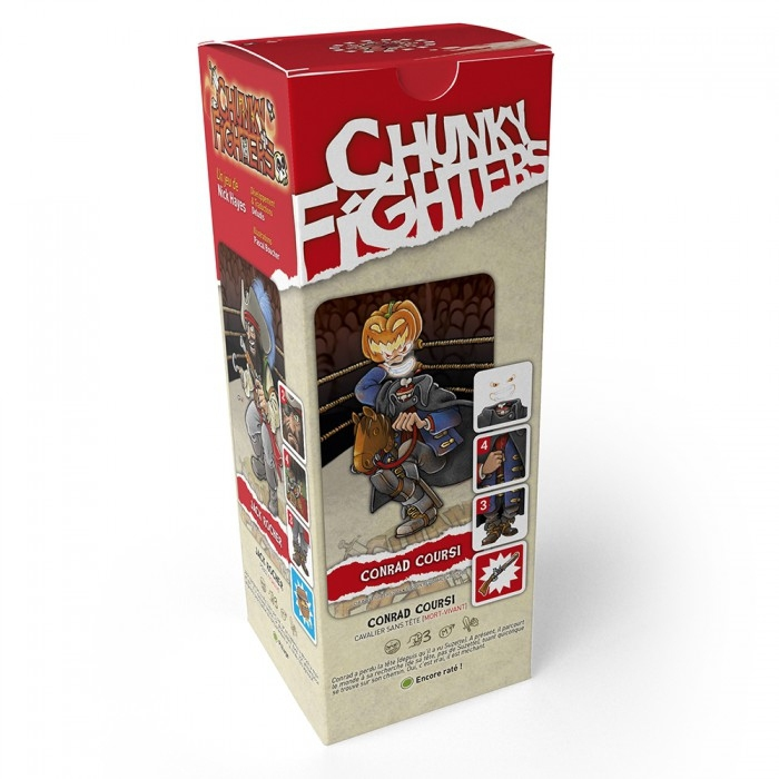 Chunky Fighters - Starter 2 pas cher
