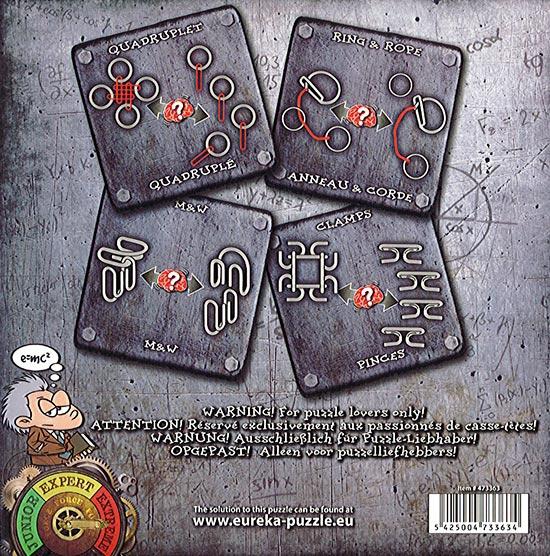 Collection Casse-Têtes Métal - Extrême