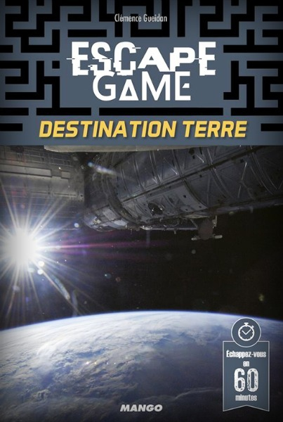 Destination Terre - Escape Game Book pas cher