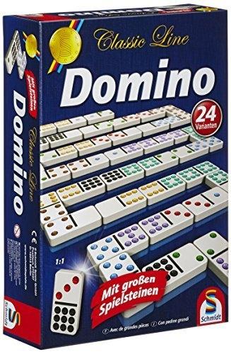 Domino - Double 9 Couleurs pas cher