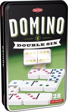Domino Double 6 Colorés pas cher