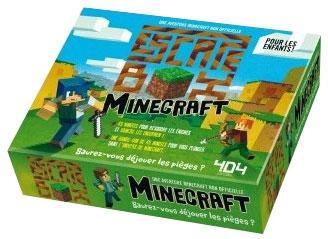 Escape Box : Minecraft (Junior) pas cher