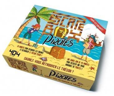 Escape Box : Pirates (Junior) pas cher