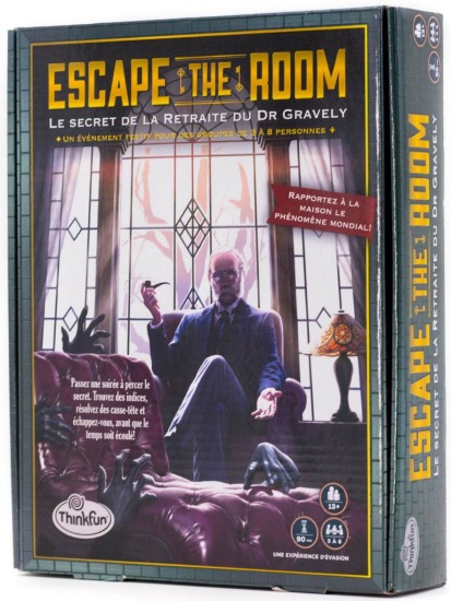 Escape The Room - Le Secret de la Retraite du Dr Gravely pas cher