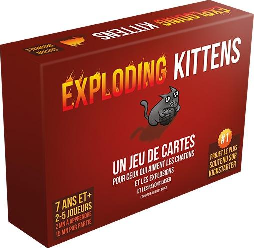 Exploding Kittens pas cher