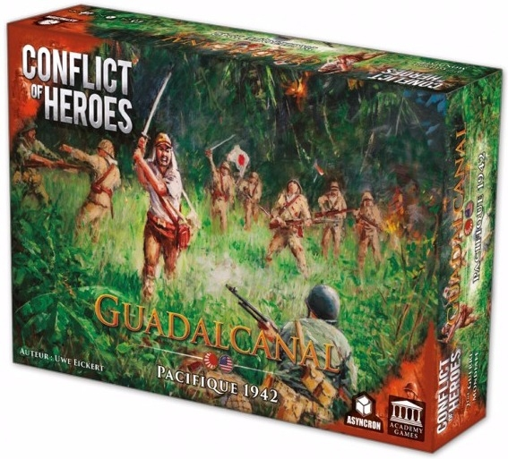 Conflict of Heroes : Guadalcanal pas cher
