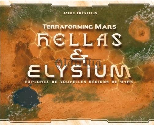 Hellas & Elysium - Extension Terraforming Mars VF pas cher