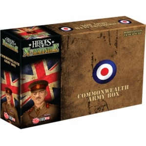 Heroes Of Normandie - Commonwealth Army Box pas cher
