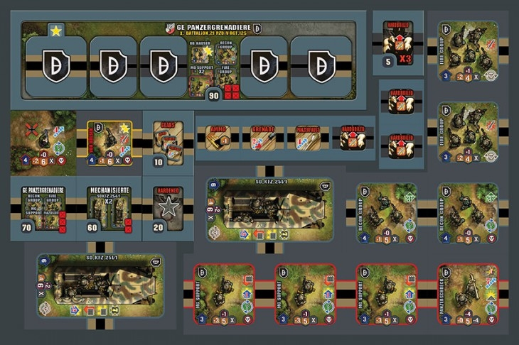 Heroes Of Normandie - GE 21st Panzer Division pas cher