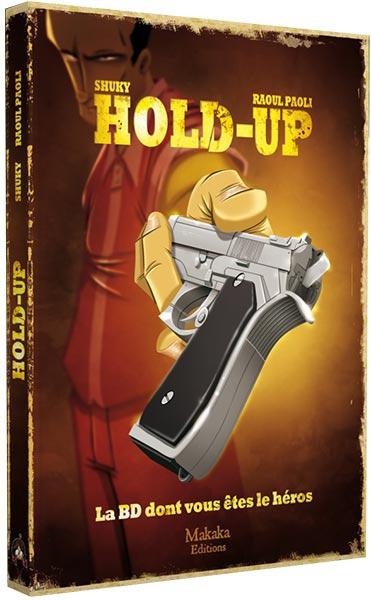 Hold-Up - La BD dont Vous êtes le Héros ! pas cher