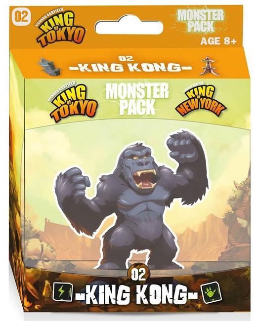 King of Tokyo - Monster Pack - King Kong pas cher