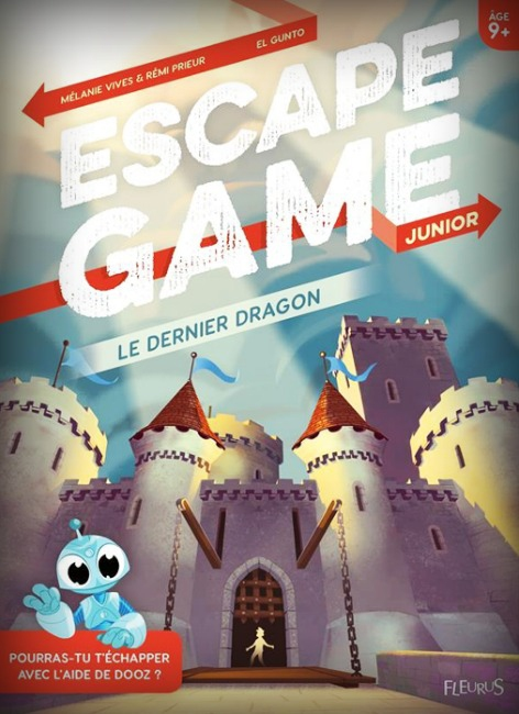 Le Dernier Dragon - Escape Game Kids Book pas cher