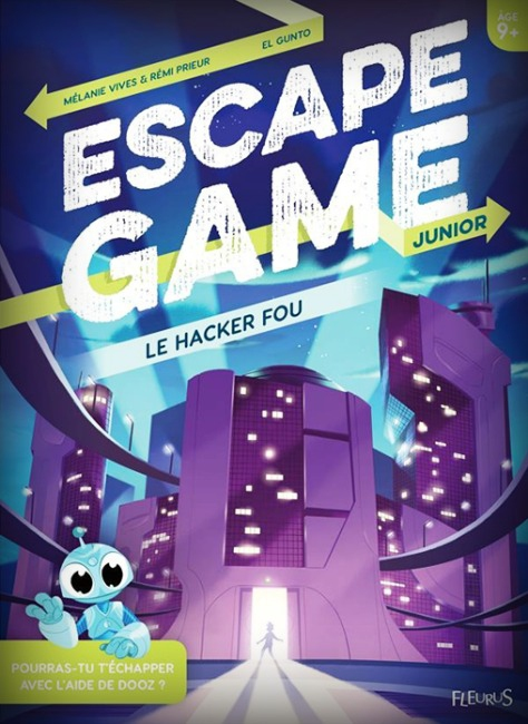 Le Hacker Fou - Escape Game Kids Book pas cher