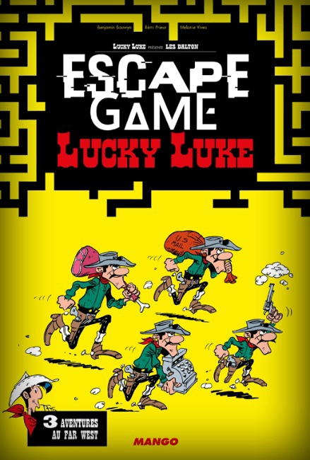 Lucky Luke - Escape Game Book pas cher