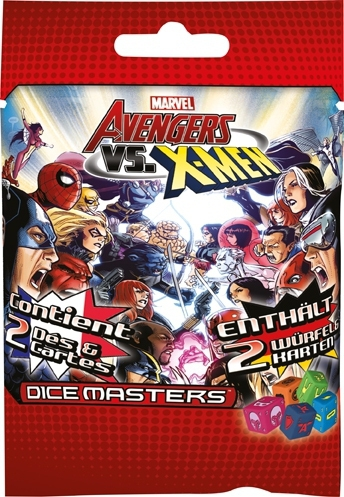 Marvel Dice Masters - Avengers VS X-Men - Booster