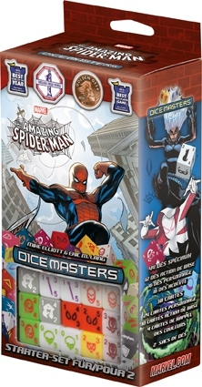 Marvel Dice Masters - Amazing Spider-Man - Starter VF pas cher