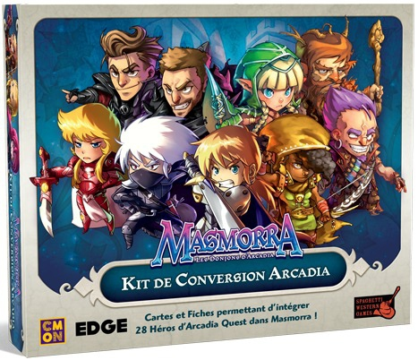Masmorra : Kit de Conversion Arcadia pas cher