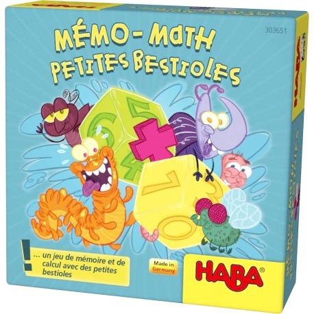 Mémo-Math - Petites Bestioles pas cher