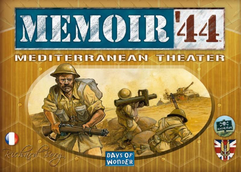 Mémoire 44 - Mediterranean Theater pas cher