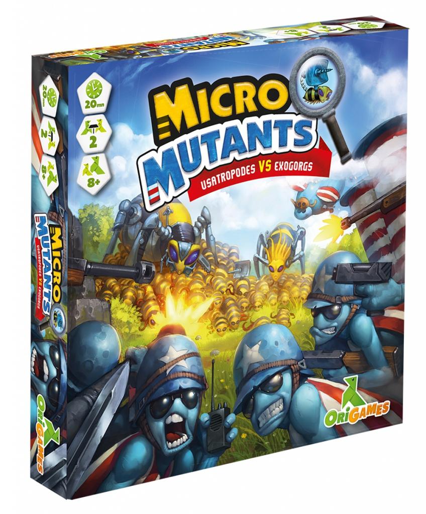 Micro Mutants - Usatropodes Vs Exoborgs pas cher