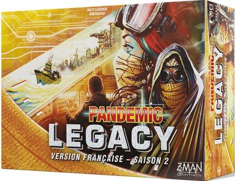 Pandemic Legacy VF - Saison 2 - Jaune pas cher