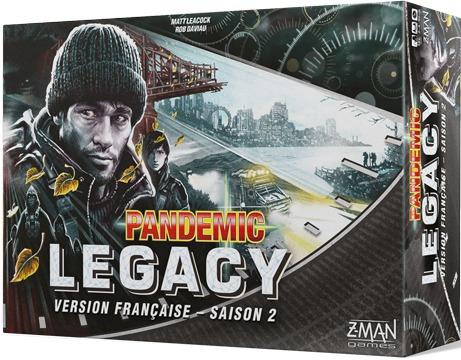 Pandemic Legacy VF - Saison 2 - Noir pas cher