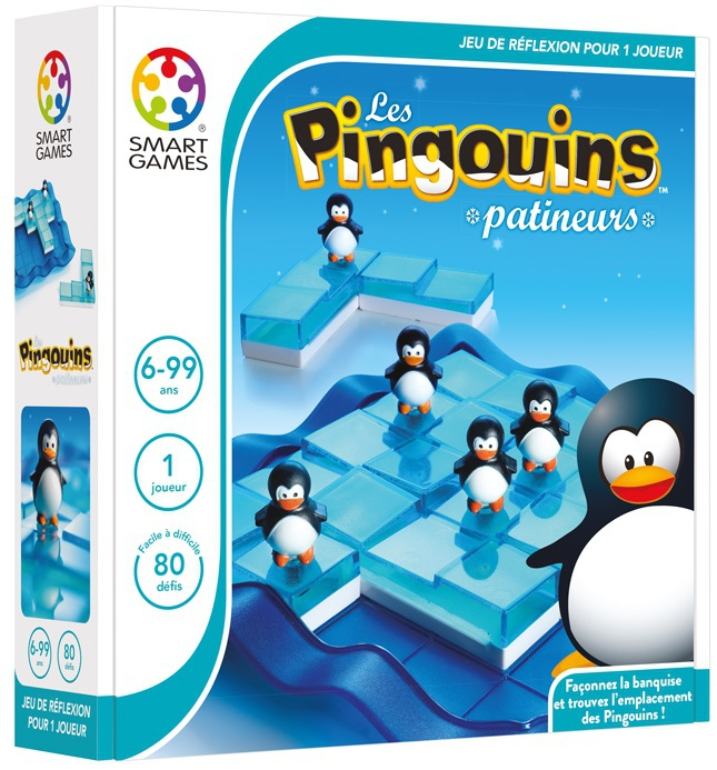 pingouins patineurs jeux smart games acheter sur. Black Bedroom Furniture Sets. Home Design Ideas