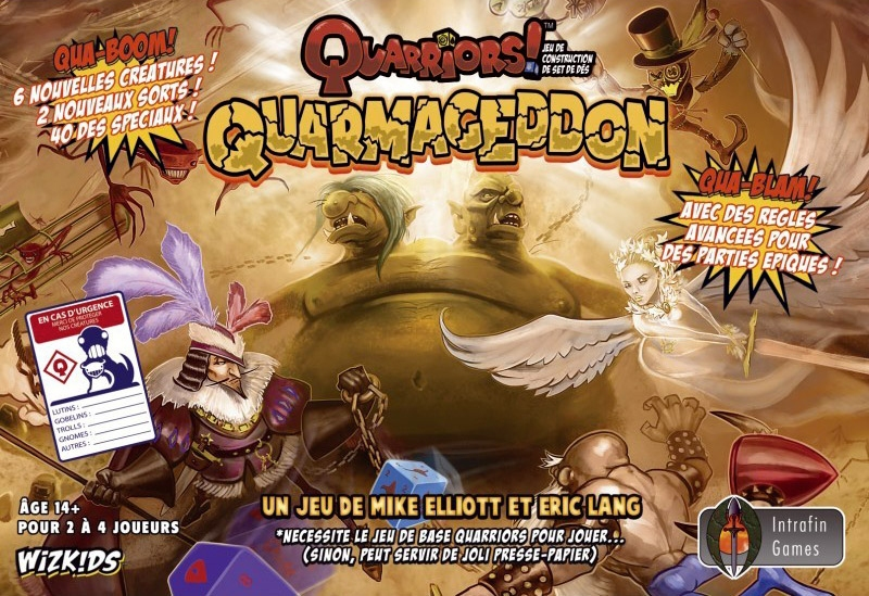 Quarriors ! Quarmageddon VF pas cher