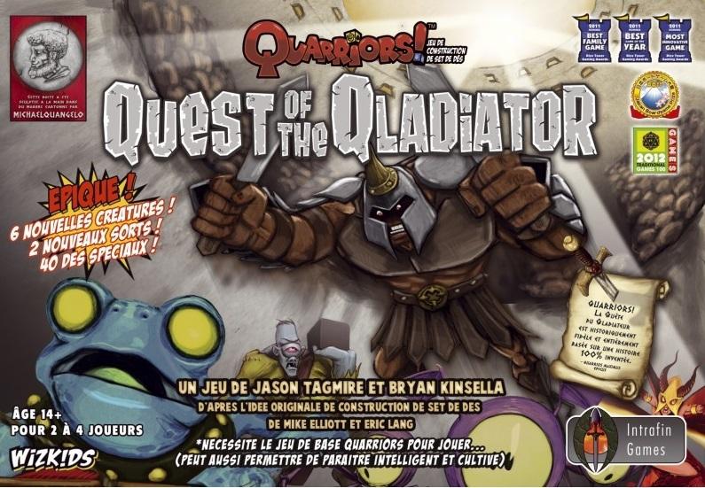 Quarriors ! Quest for the Qladiator FR pas cher