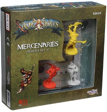 Rum & Bones : Mercenary Heroes Set 1