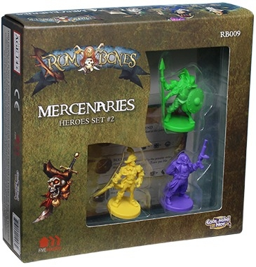 Rum & Bones : Mercenary Heroes Set 2