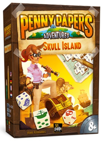 Skull Island - Penny Papers Adventures pas cher