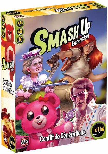 Smash Up : Conflit de Générations pas cher
