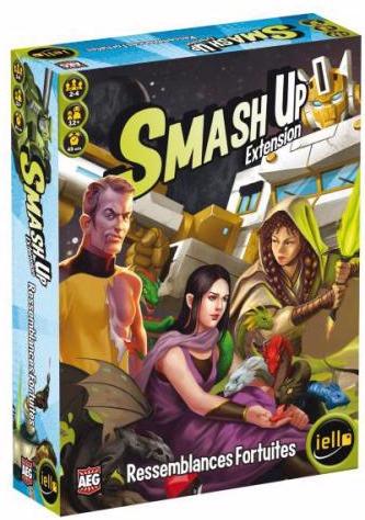 Smash Up : Ressemblances Fortuites pas cher
