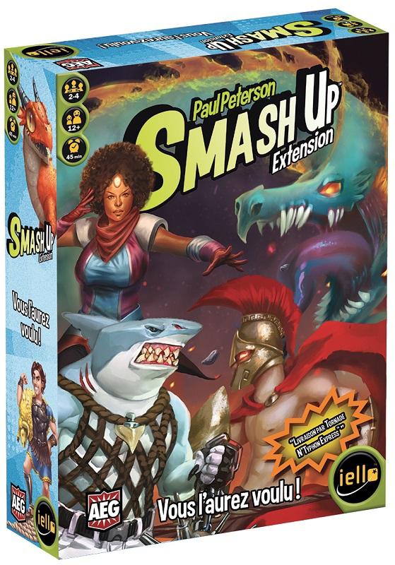 Smash Up : Vous l'aurez voulu ! pas cher