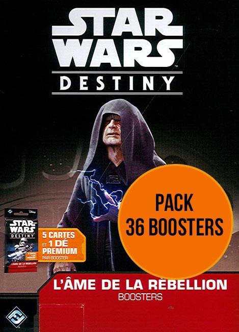 Star Wars Destiny : Pack L'Âme de la Rebellion pas cher