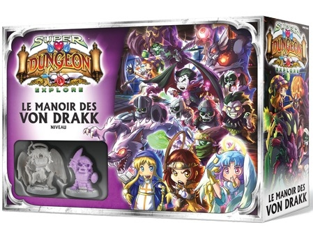 Super Dungeon Explore : Le Manoir des Von Drakk