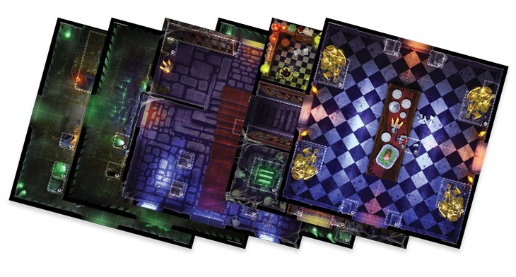 Super Dungeon Explore : Maison Fantôme de Von Drakk - Extension Tuiles